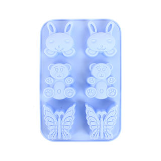Silicone Mould Bunny Bear Butterfly