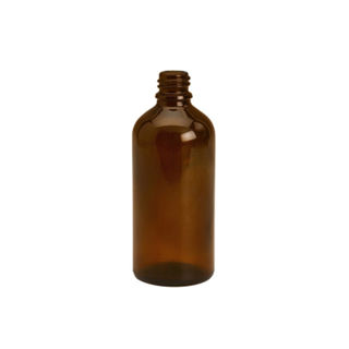 Amber Dispensing Bottle -  50ml (NO CAP)