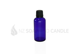 Blue Glass Dispensing Bottle - 50ml