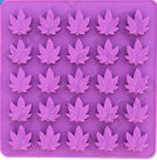 Mini Hemp Leaf (25 cavity)