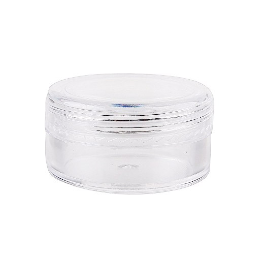 Clear Cosmetic Pottle - 15gm