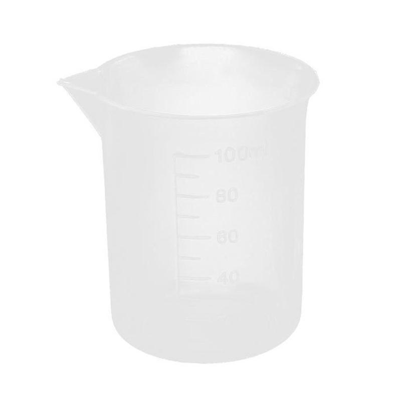 100mL Plastic Beaker Measuring Cup