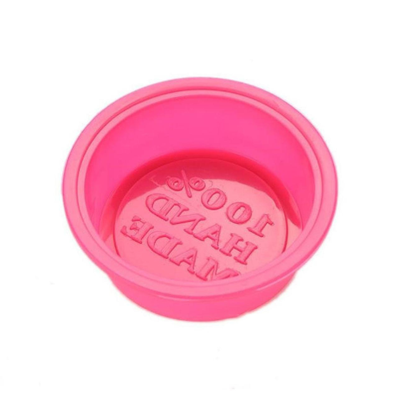 Silicone Single Round Soap Mould