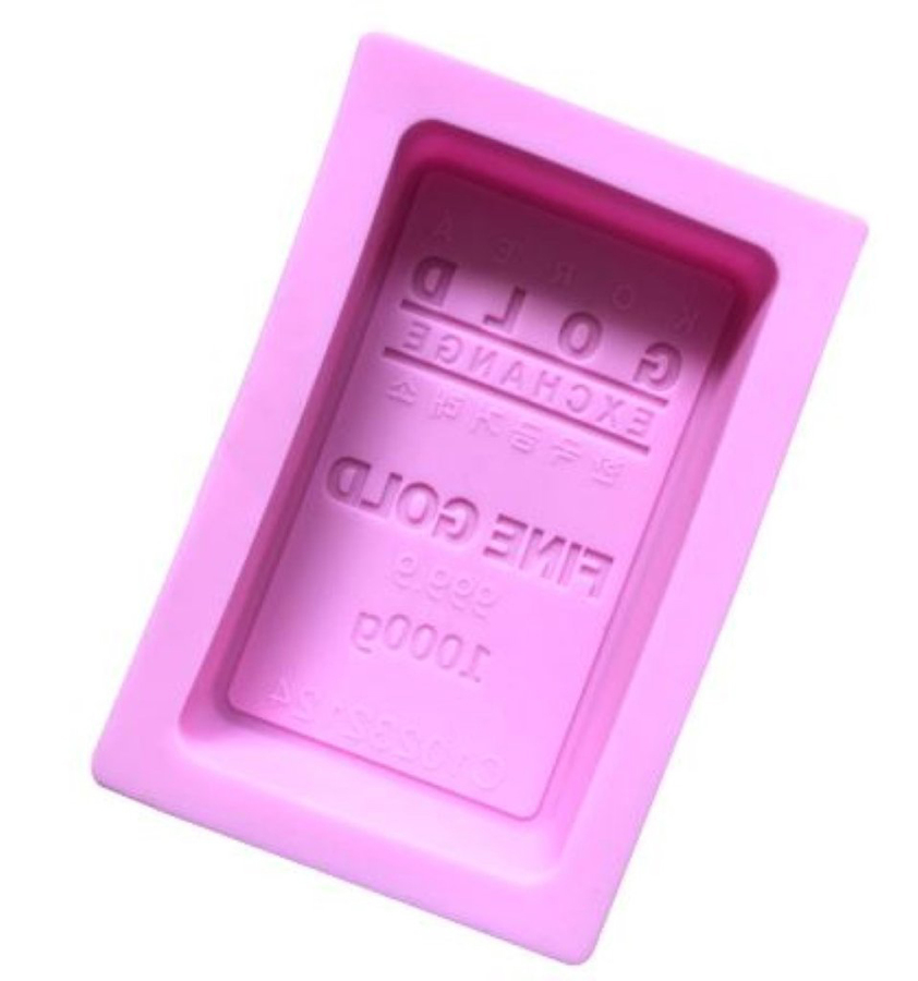 Silicone Rectangle Gold Bar Mould
