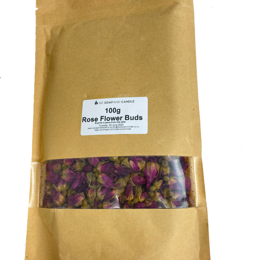 100g - Dried Rose Buds