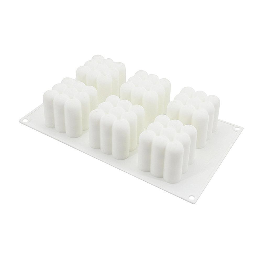 Silicone 6 Cavity 3D Cube Mould