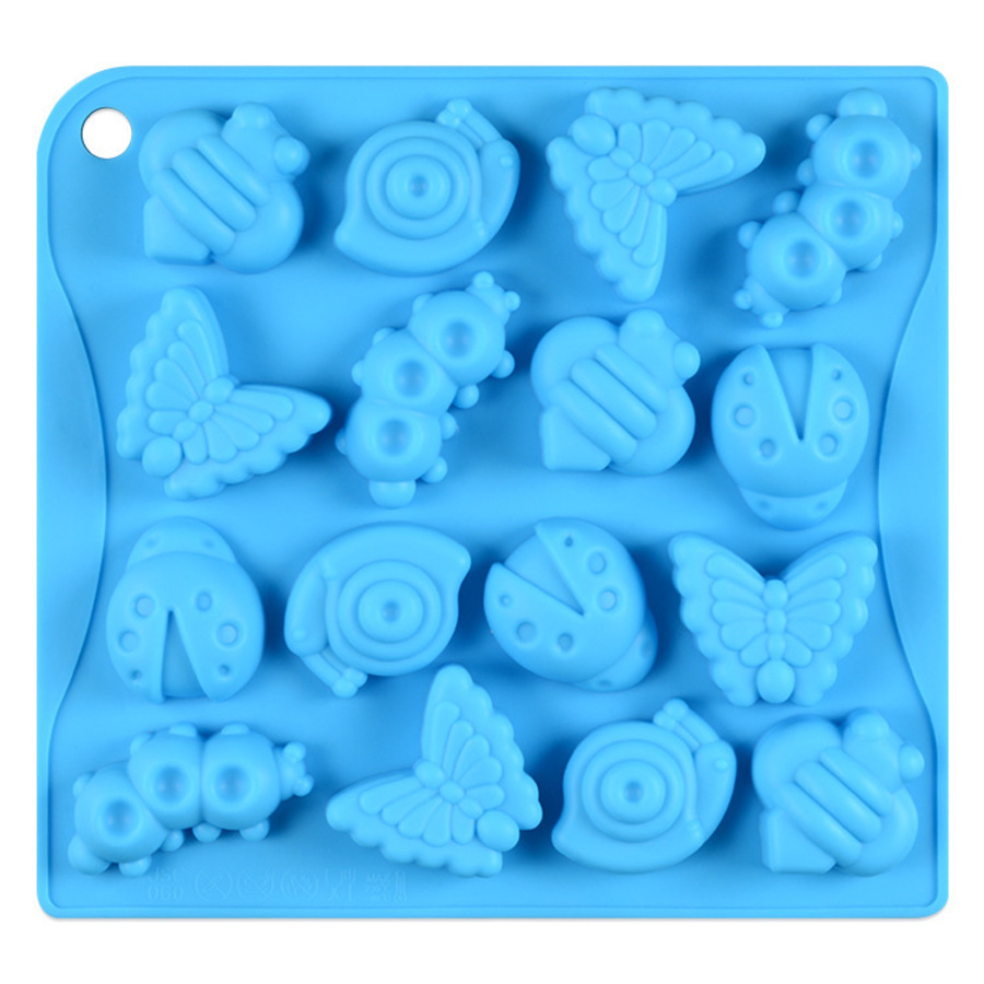 Silicone 16 Cavity Insect Mould