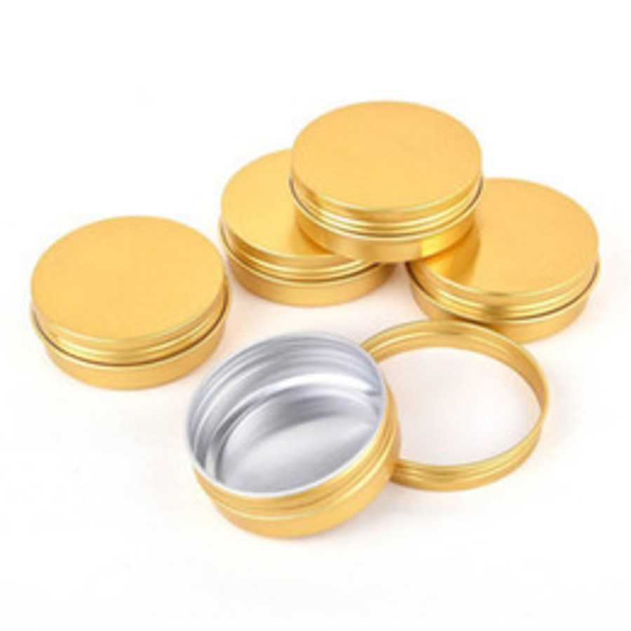 Gold Metal Tins - 50g