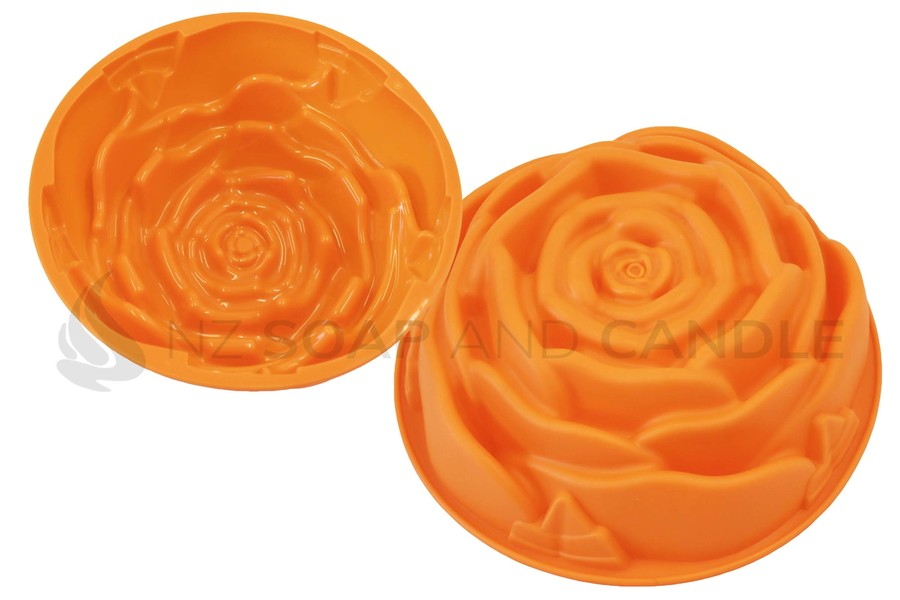 Rose silicone cake mould